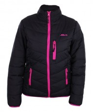 JACKET SIUX BRIENZ WOMAN BLACK FUCHSIA