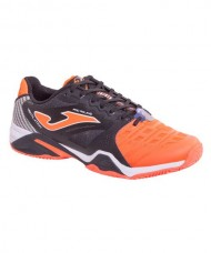 JOMA T.PRO ROLAND 708 BLACK-ORANGE ALL COURT