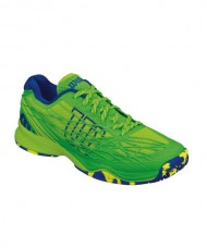 WILSON KAOS CLAY COURT GREEN BLUE