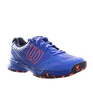WILSON KAOS COMPOSITE WOMAN BLUE CORAL TRAINERS