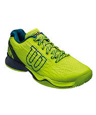 WILSON KAOS GREEN TRAINERS