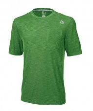 CAMISETA WILSON TEXTURED CREW MEADOW VERDE