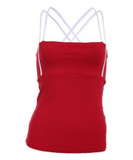 CAMISETA MI ACTIVEWEAR SIZA TOP LARGE ROJA