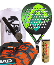 PACK HEAD GRAPHENE TORNADO CONTROL LTD Y PALETERO DELTA BELA MONSTERCOMBI