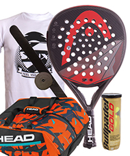 PACK HEAD GRAPHENE SPEED Y PALETERO DELTA BELA MONSTERCOMBI