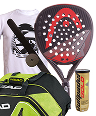 PACK HEAD GRAPHENE SPEED Y PALETERO CORE PADEL