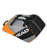 SAC DE PADEL HEAD ELITE PADEL SUPERCOMBI ORANGE GRIS