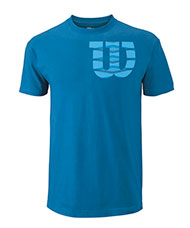 CAMISETA WILSON SHOULDER COTTON TEE AZUL