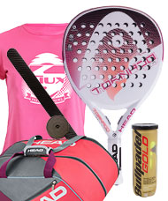 PACK HEAD GRAPHENE TORNADO XTR Y PALETERO ELITE PADEL SUPERCOMBI