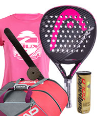 PACK HEAD GRAPHENE TORNADO XTR+ Y PALETERO ELITE SUPERCOMBI