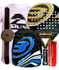 PACK BULLPADEL GOLD EDITION 2015 Y MOCHILA