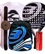PACK BULLPADEL SILVER EDITION 2015 MOCHILA