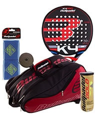 PACK BULLPADEL K4 PRO AND PADEL RACKET BAG MAXI SANCHEZ