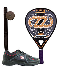 PACK CAZZEC FURIUS AND PADEL SHOES WILSON