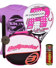 PACK ROYAL PADEL RP 790 WHIP WOMAN Y BOLSO BULLPADEL