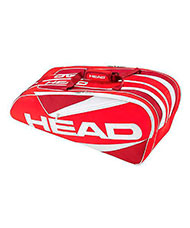 RACKET BAG HEAD ELITE 9R SUPERCOMBI RED