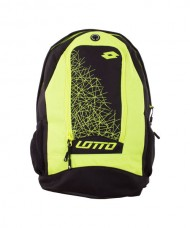 LOTTO LZG II BLACK YELLOW BACKPACK
