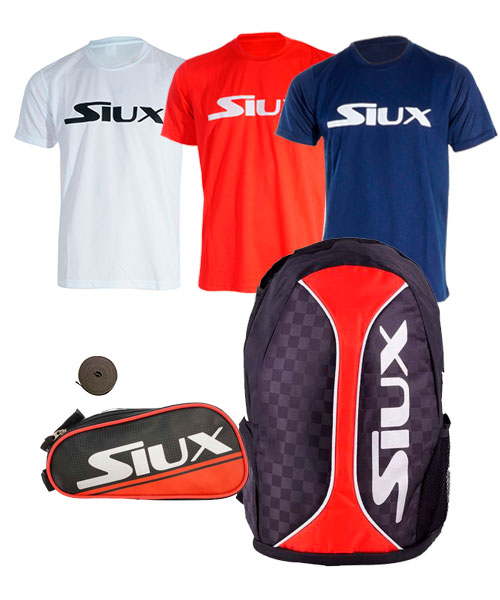 PACK SIUX TRAIL 2.0 RED AND LITTLE BAG SIUX RED