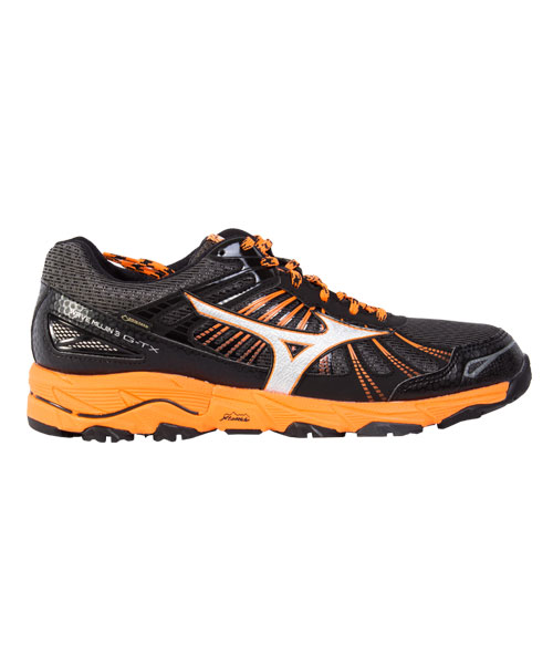 0442d918ab95 MIZUNO WAVE MUJIN 3 GTX BLACK ORANGE J1GC165704