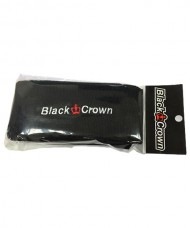 MUÑEQUERAS BLACK CROWN NEGRA