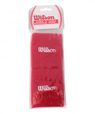 WILSON RED WRISTBAND