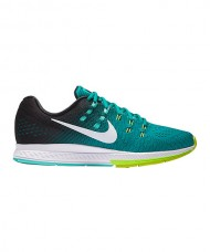 NIKE AIR ZOOM STRUCTURE 19 NEGRO TURQUESA
