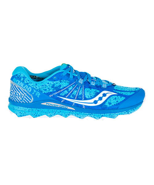 saucony trail mujer azul
