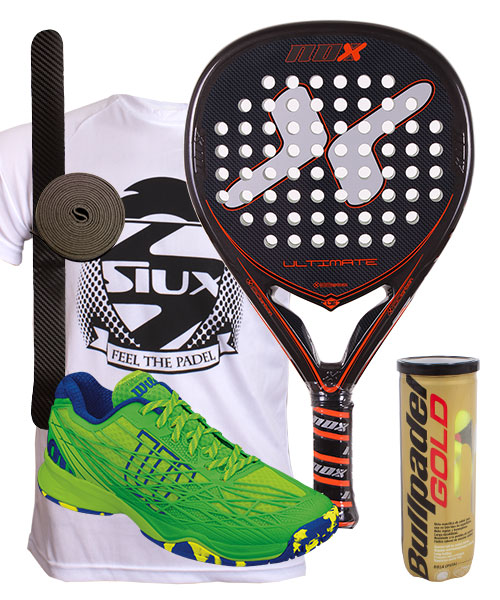 PACK NOX ULTIMATE AND WILSON KAOS CLAY SHOES