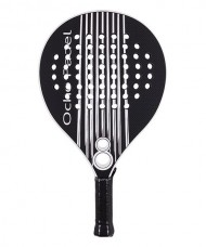 OCHO PADEL BLACK WHITE