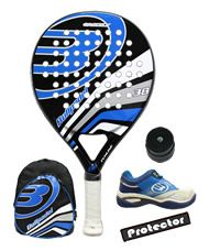 PACK BULLPADEL GRIZZLY, MOCHILA Y ZAPATILLAS