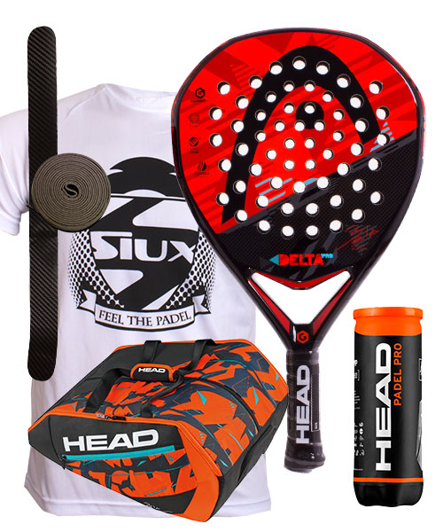 PACK HEAD GRAPHENE XT DELTA PRO Y PALETERO DELTA BELA MONSTERCOMBI