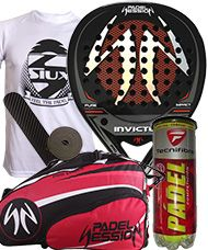 PACK PADEL SESSION INVICTUS Y PALETERO PADEL SESSION