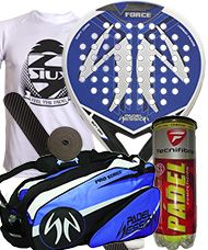 PACK PADEL SESSION V FORCE Y PALETERO PADEL SESSION