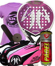 PACK PADEL SESSION V FORCE LADY Y PALETERO PADEL SESSION