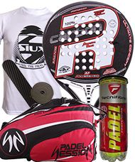 PACK ROYAL PADEL ANIVERSARIO M27 Y PALETERO PADEL SESSION