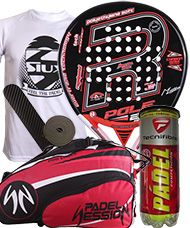 PACK ROYAL PADEL POLE 25 AÑOS Y PALETERO PADEL SESSION