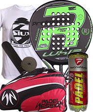 PACK ROYAL PADEL RP790 WHIP Y PALETERO PADEL SESSION