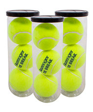 PACK OF 3 CANS OF 3 BALLS SLAZENGER TIE BREAK