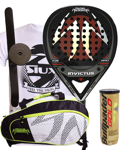 PACK PADEL SESSION INVICTUS AND MATRIX 3 PADEL BAG