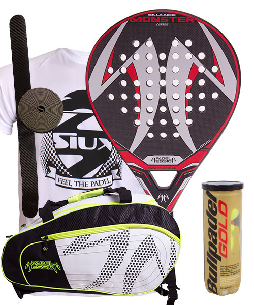 PACK PADEL SESSION MONSTERUND MATRIX 3 SCHLÄGERTASCHE