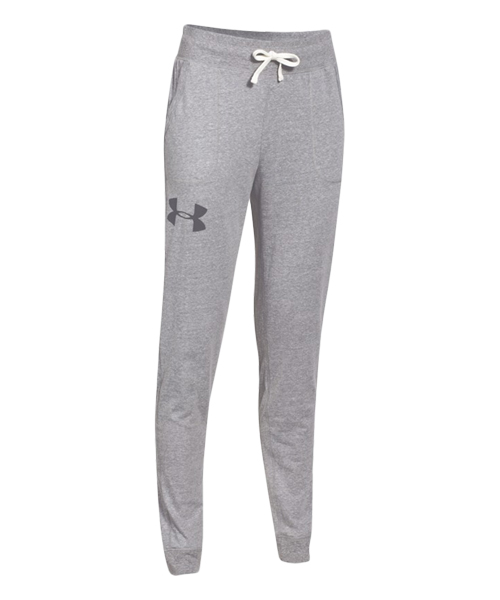 UNDER ARMOUR PANTALON LARGO GRIS CLARO TRIBLEND PANT 1260093 040