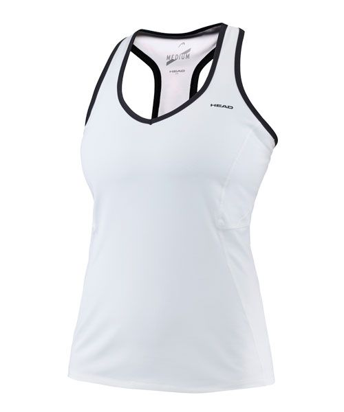 HEAD PERFORMANCE TANK TOP WHITE