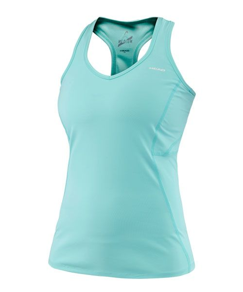 HEAD PERFORMANCE TANK TOP TURQUOISE