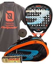 PACK BULLPADEL HACK Y PALETERO BULLPADEL AVANTLINE