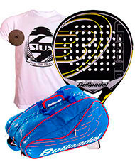PACK BULLPADEL LEGEND LIMITED EDITION Y PALETERO AVANTLINE AZUL