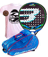 PACK BULLPADEL WING PRO 2016, PADEL RACKET BAG AVANTLINE BLUE