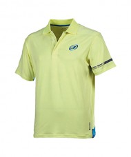 POLO SHIRT BULLPADEL BORDOM FLUORESCENT YELLOW LEMON