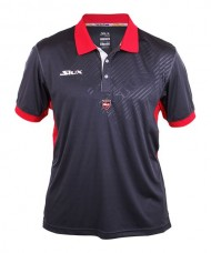 POLO SIUX SOSTER ANTHRACITE ET ROUGE