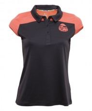 POLO SHIRT SIUX CINTIA GREY SALMON