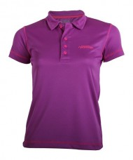 TECHNICAL POLO SHIRT WOMAN PADEL SESSION PURPLE